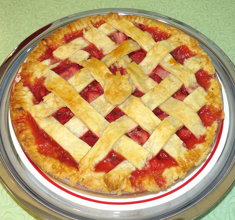 The final pie