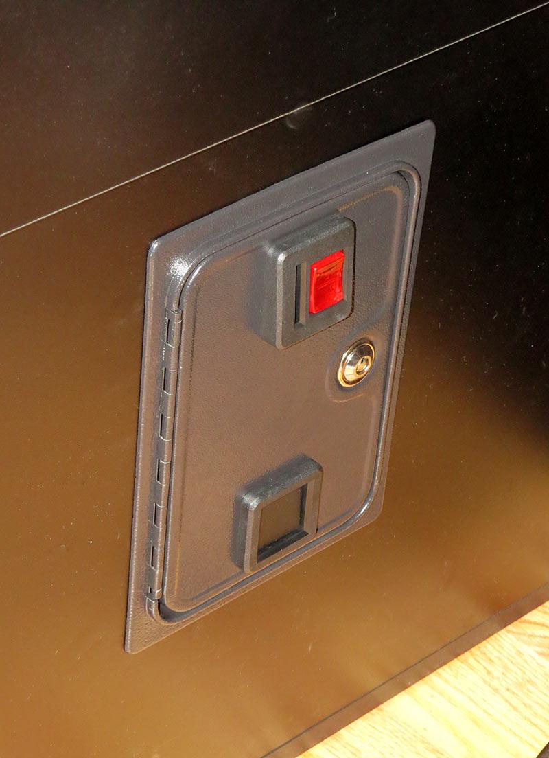 X-Arcade coin door