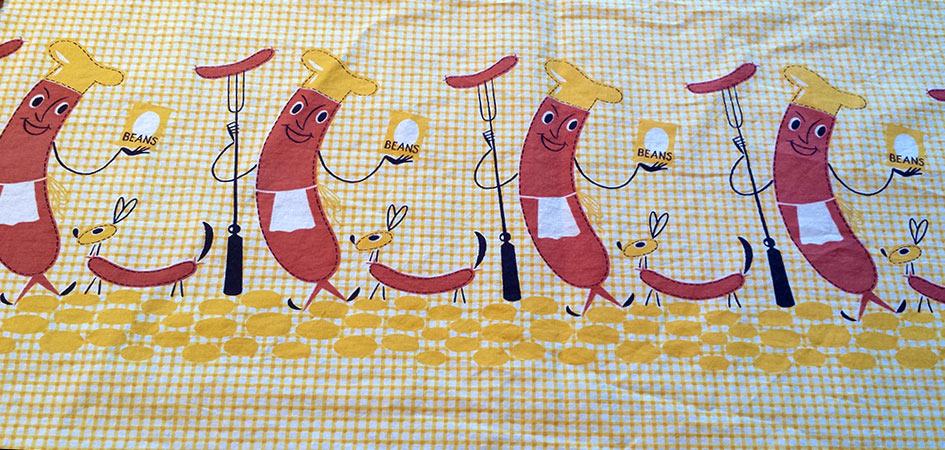 The hot dog fabric