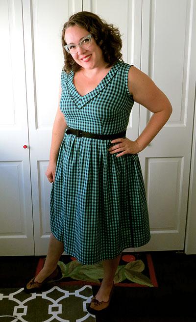The wearable muslin dress