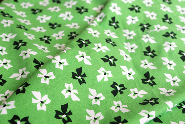 Modern vintage-styled quilting fabric