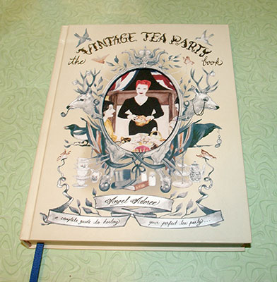 """""""The Vintage Tea Party Book"""" by Angel Adoree"""