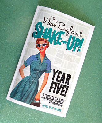 The program for the New England Shake-Up, year five