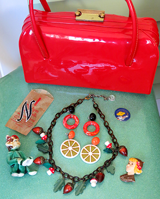 Some of the vintage and retro goodies I purchased from the Shake-Up vendors