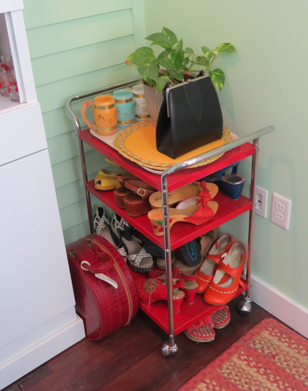 Bar Cart/Shoe Storage