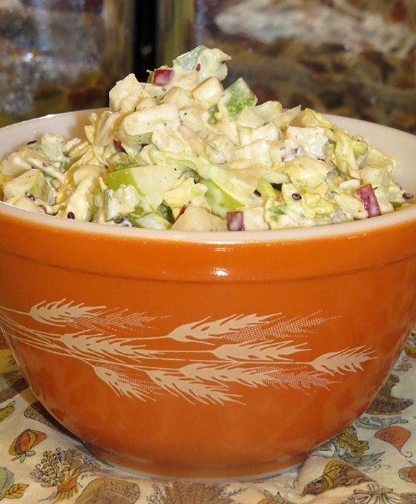 A final bowl of tasty slaw