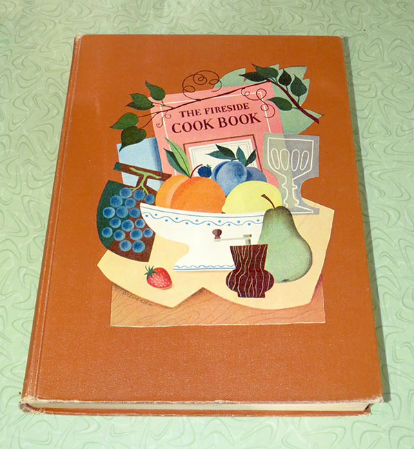 """The 1949 book """"The Fireside Cook Book"""" by James A. Beard"""