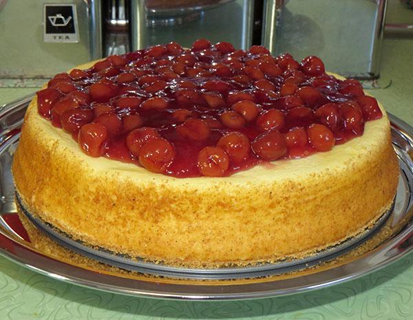 The final cheesecake