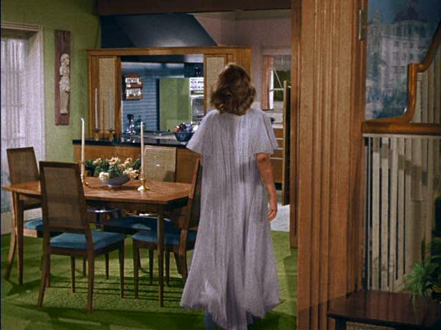 """The """"Bewitched"""" dining room also has some familiar colors and a very similar dining room set."""