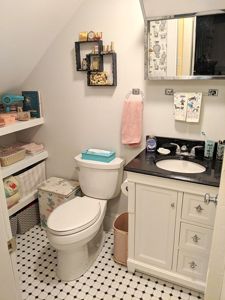 Our new bathroom.