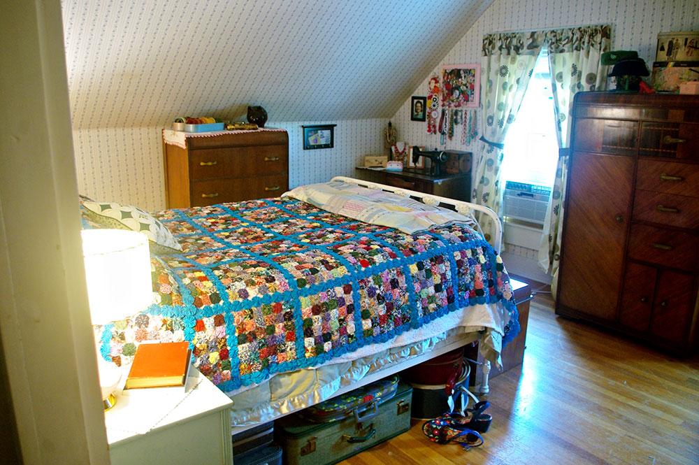 The original front bedroom.