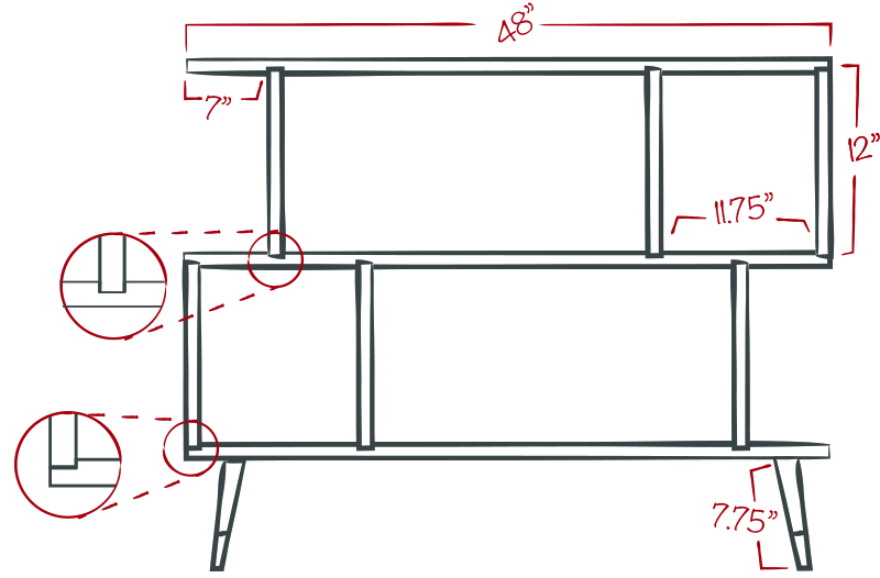My plans for the entertainment center