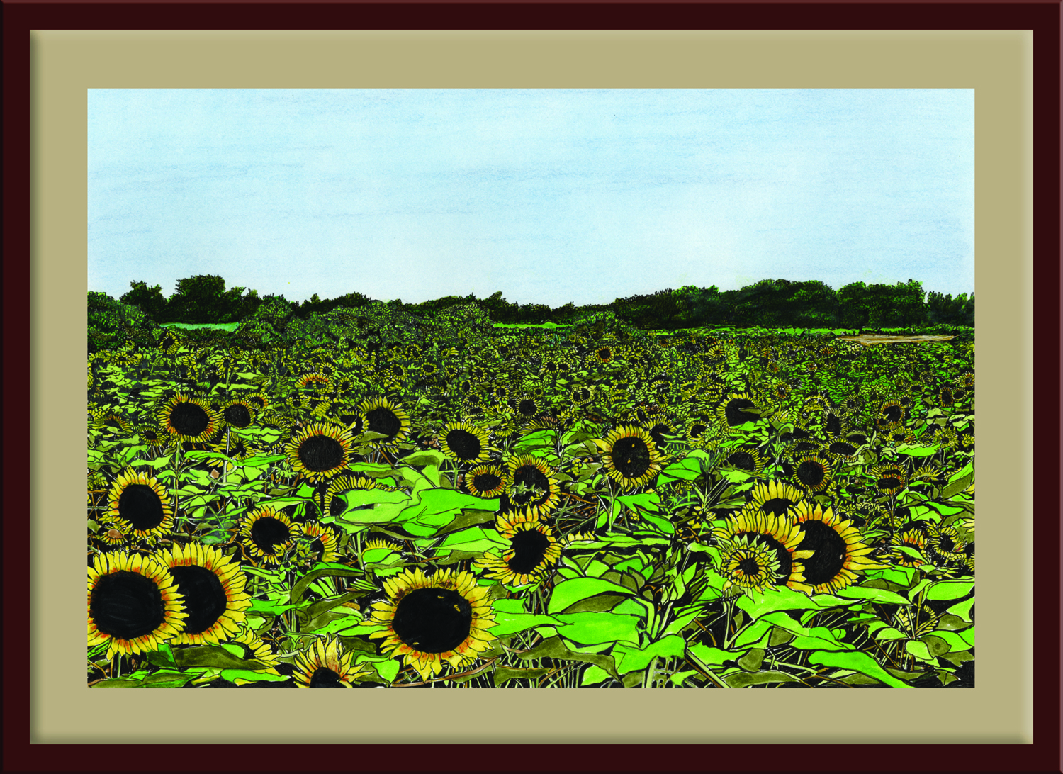 FIELD oF DREAMS Framed