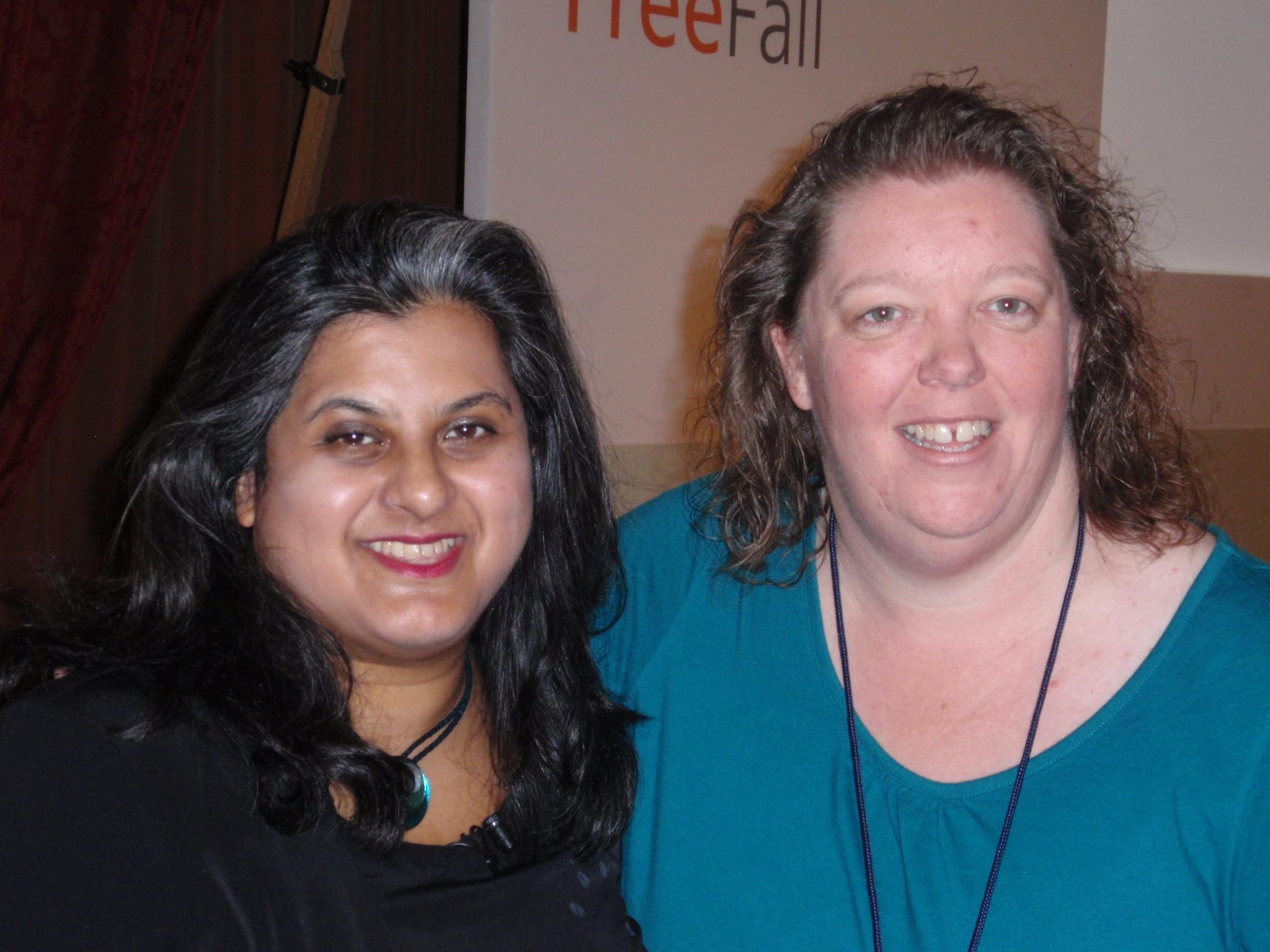 2013 Conference met Manjir Samanta-Thornton