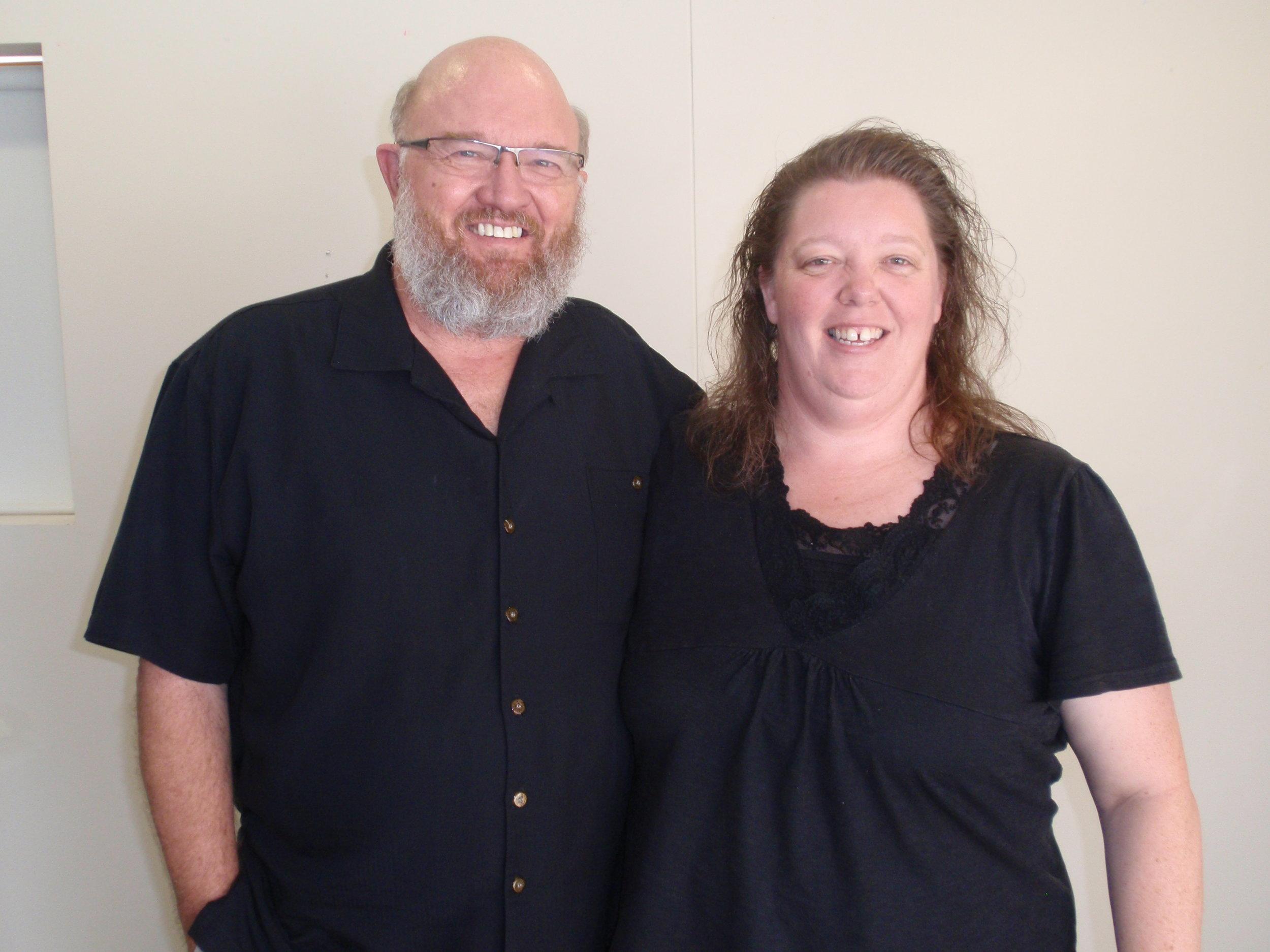 Melissa with Dr John Veltheim