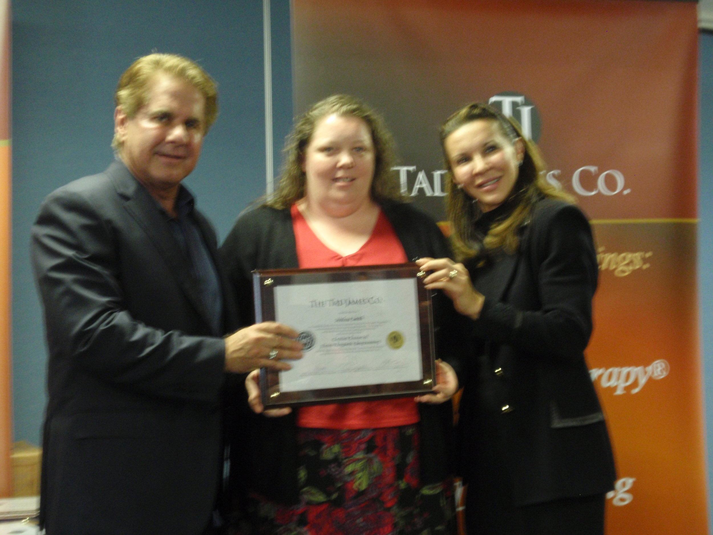 Graduating as NLP Trainer