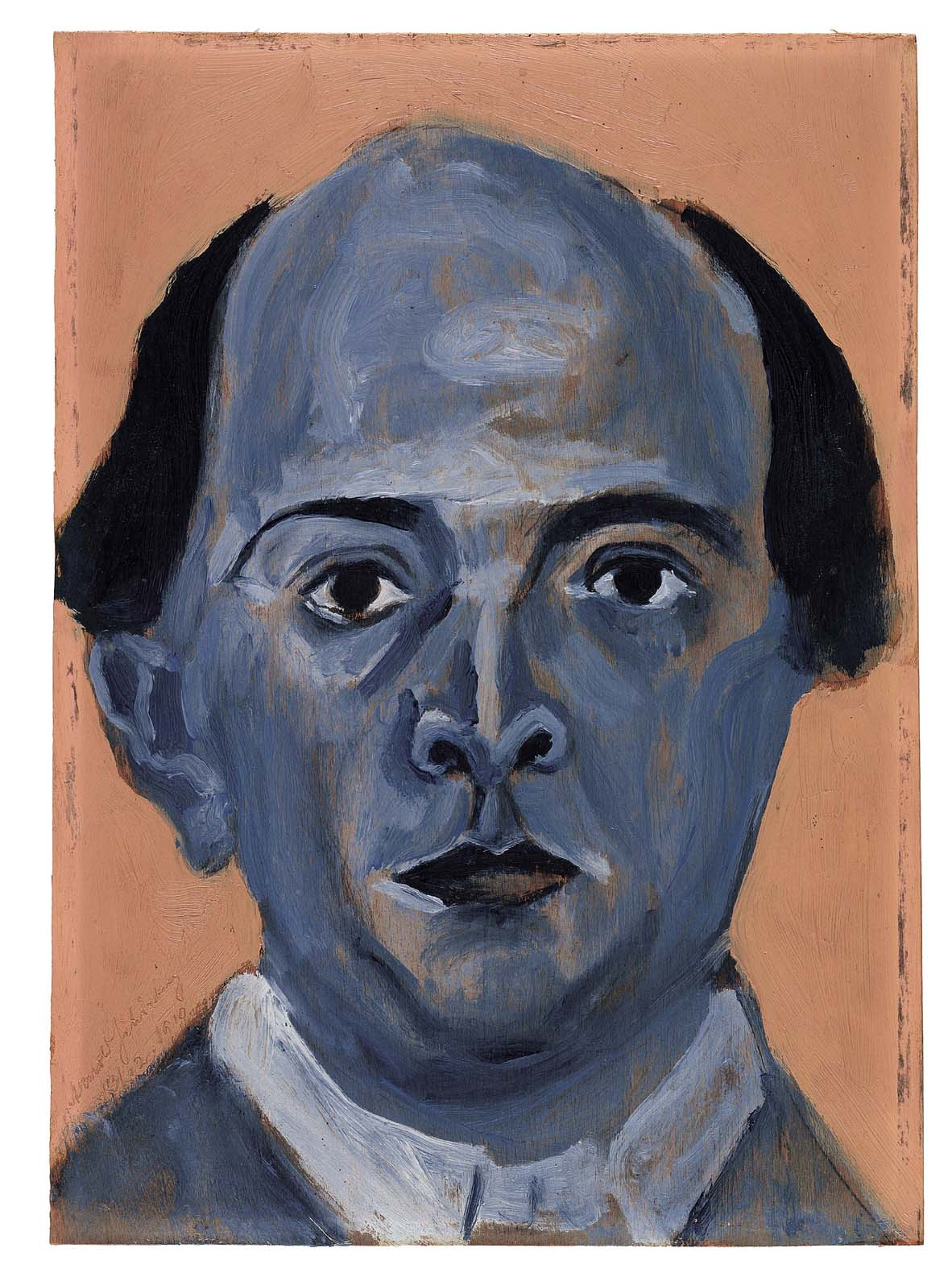 Schoenberg: Blue Self Portrait (1910)