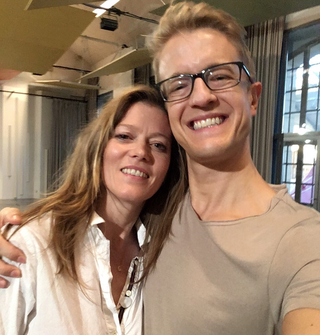 With the amazing Barbara Hannigan at the conclusion of our Equilibrium Artists summit in Paris.