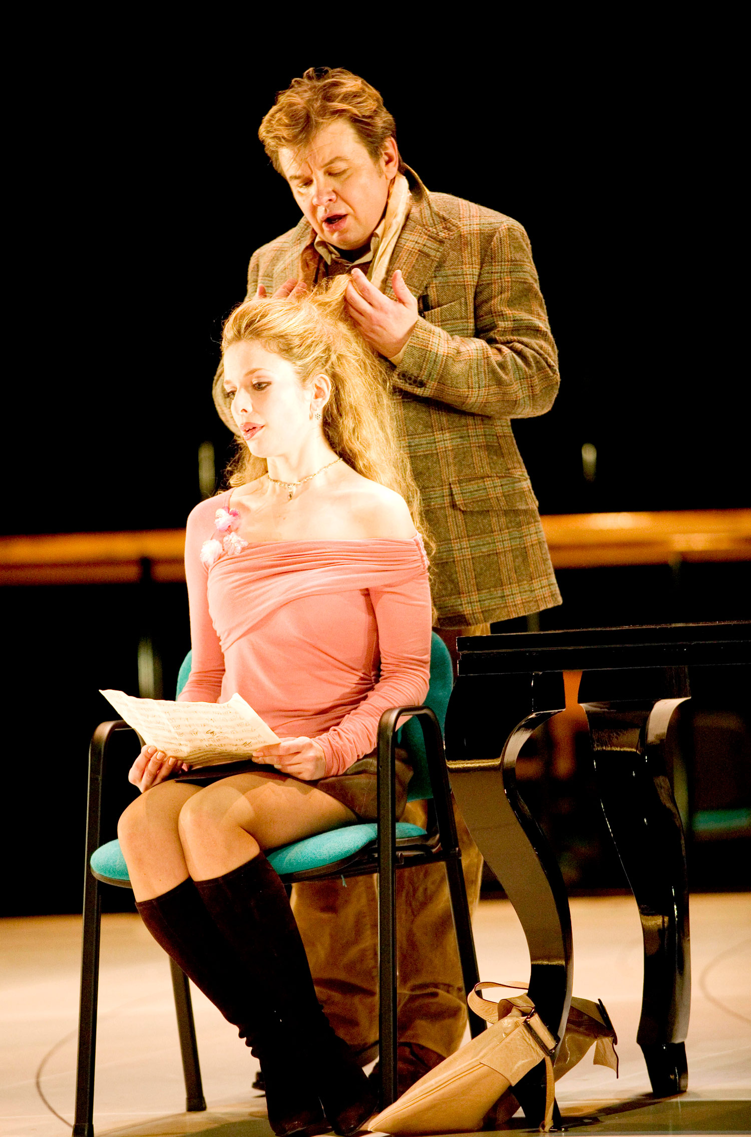 With Henrike Jacob in  L'Opera Seria  at the Nationale Reisopera. © Hermann and Clärchen Baus