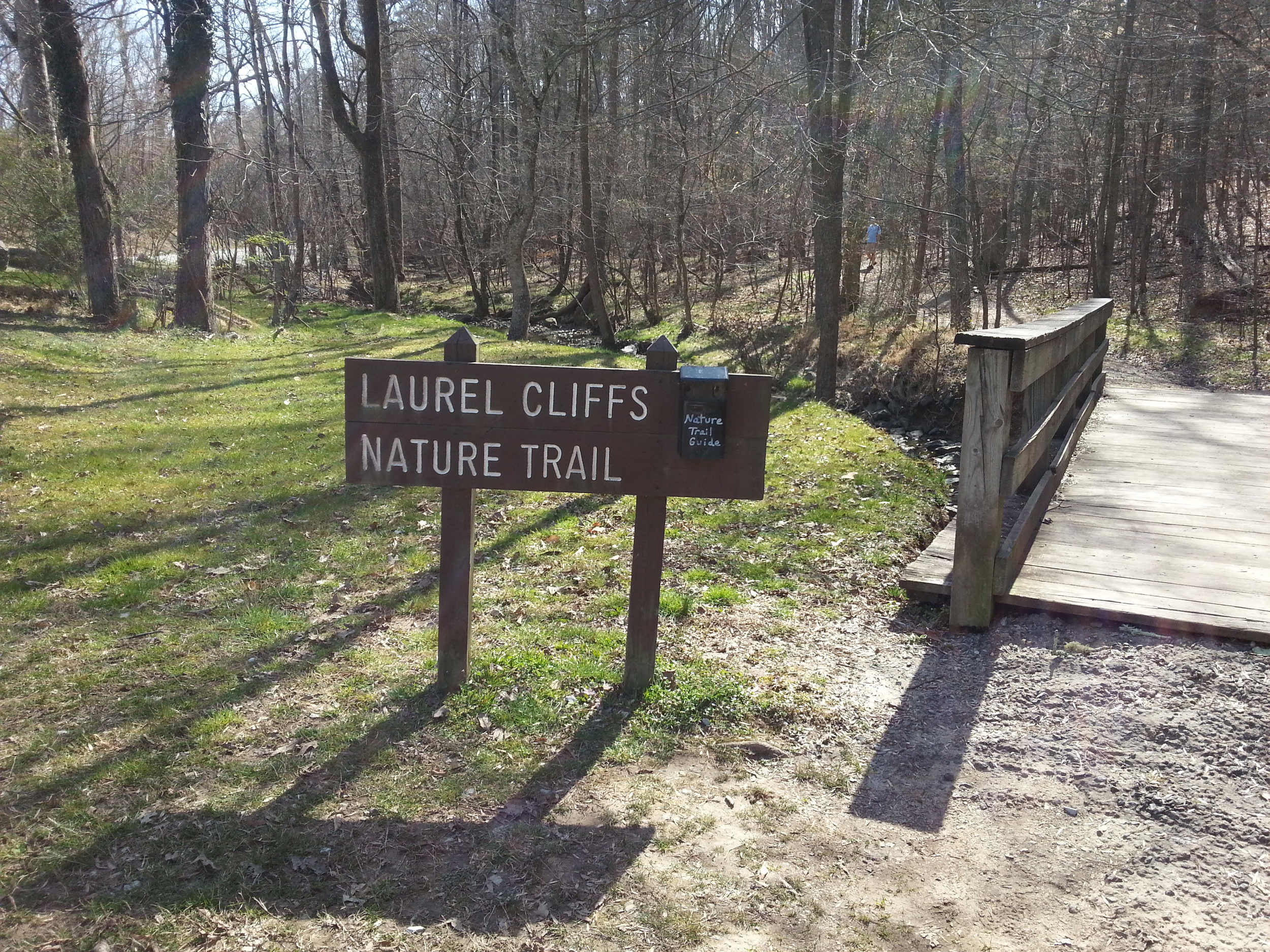Laurel Clifs Nature Trail at West Point on the Eno Park