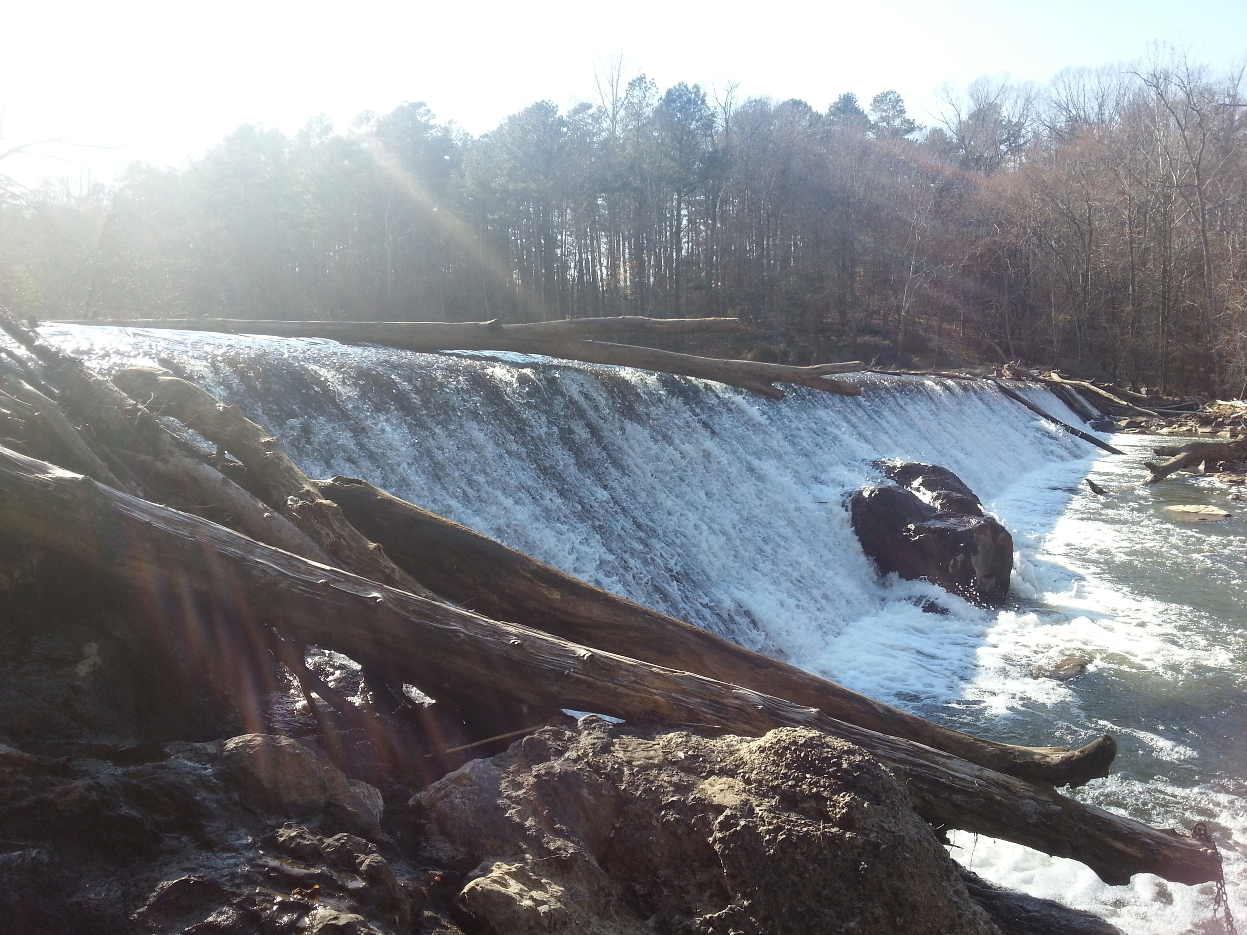 Dam at West Point on the Eno Park