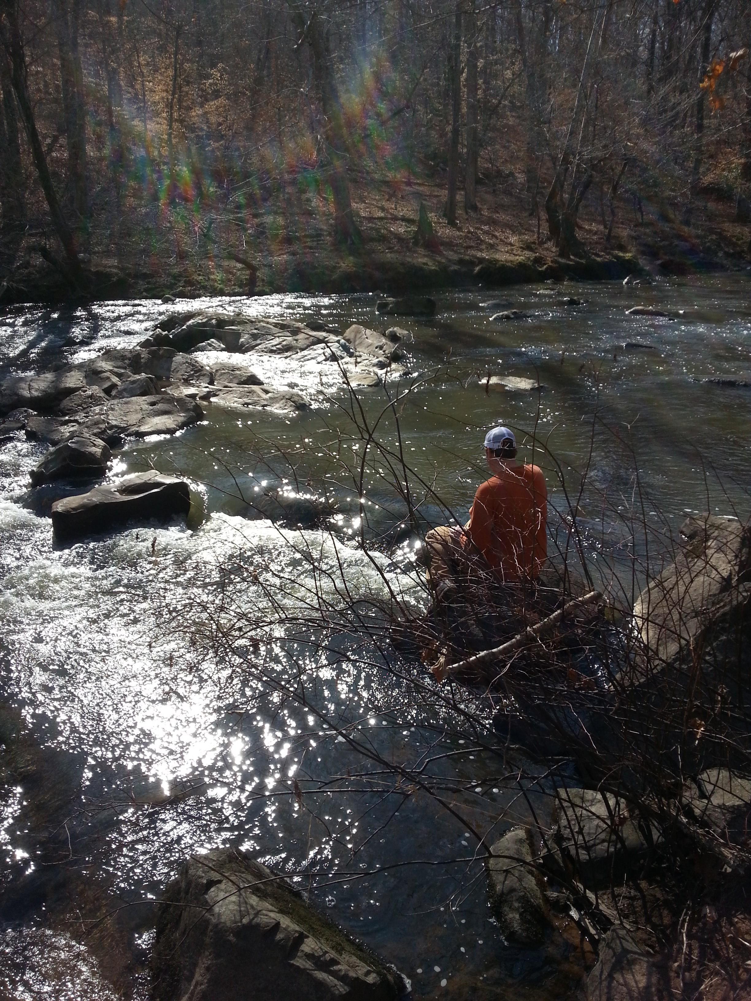 Buckquarter Creek at Eno River State Park