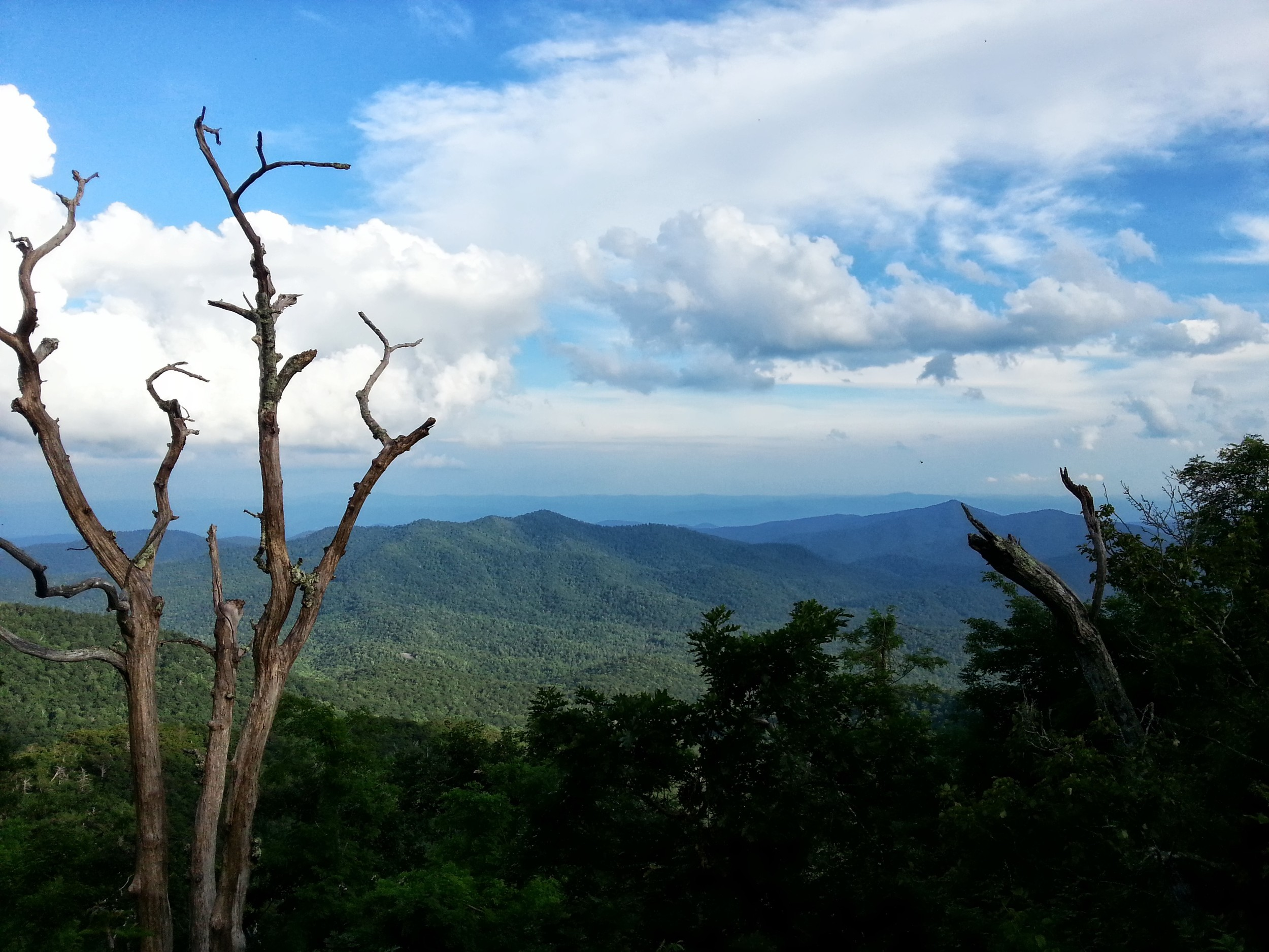 Vantage point from Mt. Pisgah Inn and Country Store area