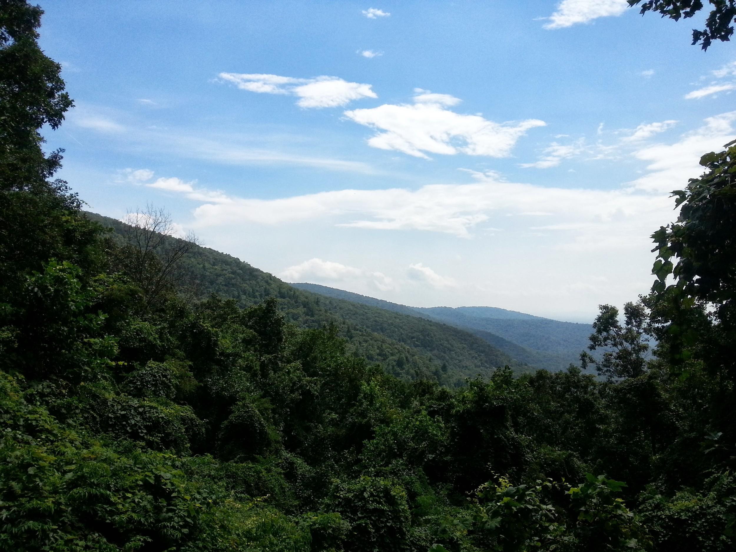 The view from Neels Gap/Walasi-Yi