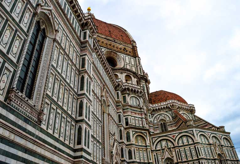 The Duomo from the right side