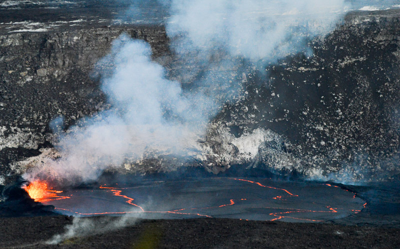 Halema'uma'u Crater: Early Evening