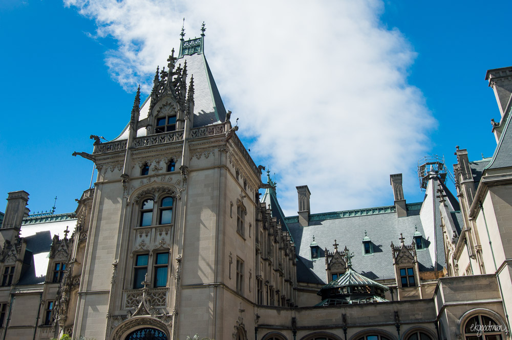 Biltmore Estate. Trying to find its best angle.