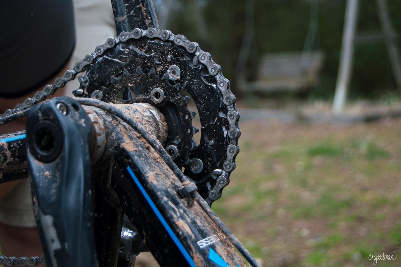 Weekend warrior-ing often includes mud. Lots of mud.