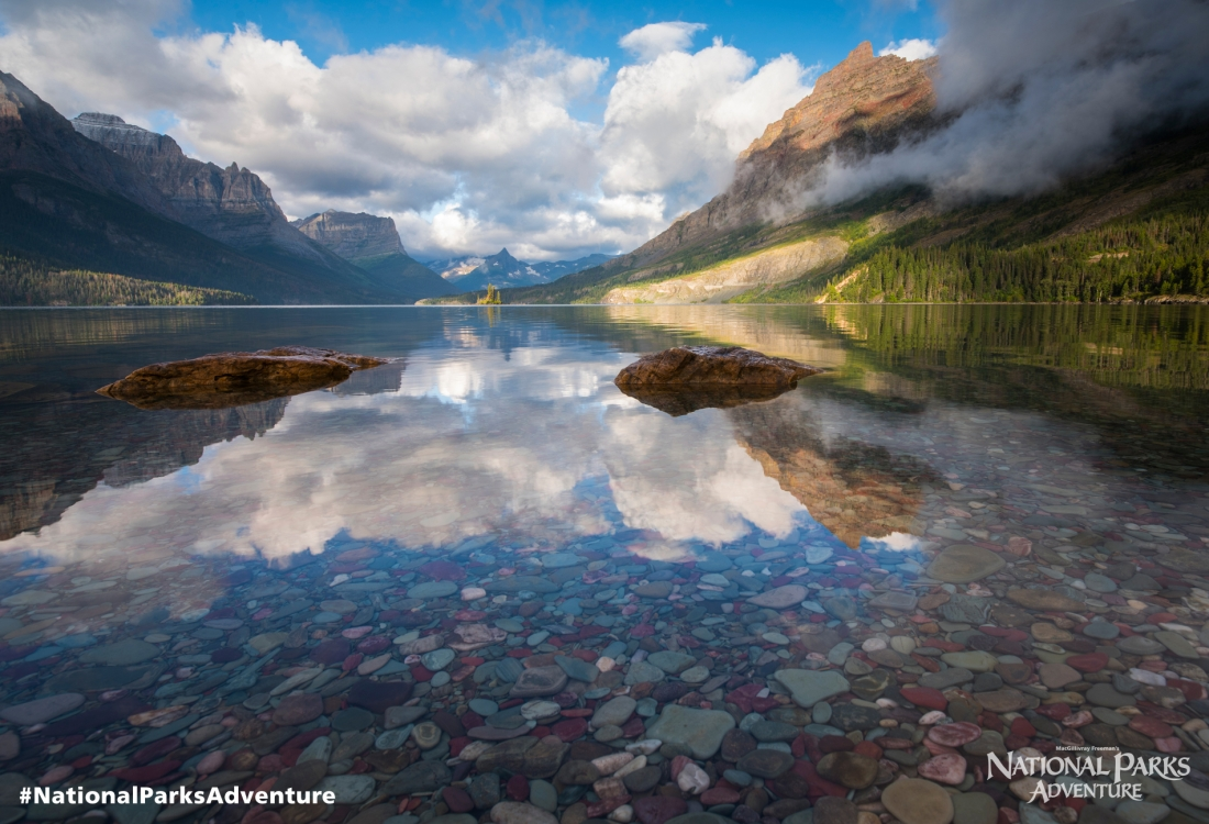 Editorial image from National Parks Adventure film.