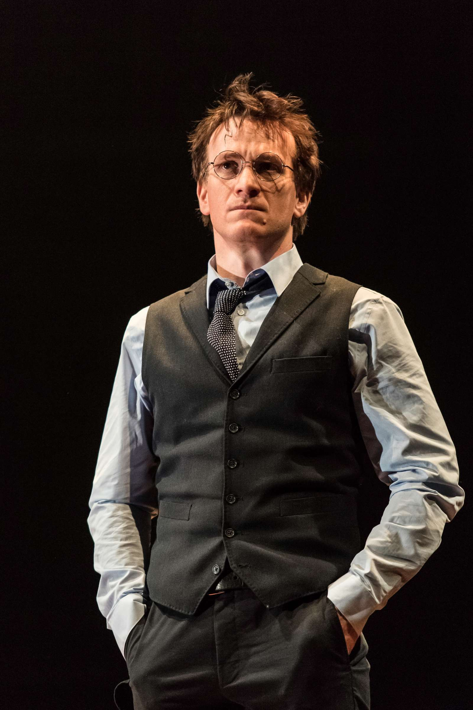 Jamie Parker (Harry Potter); Photo by Manuel Harlan - http://www.harrypottertheplay.com/