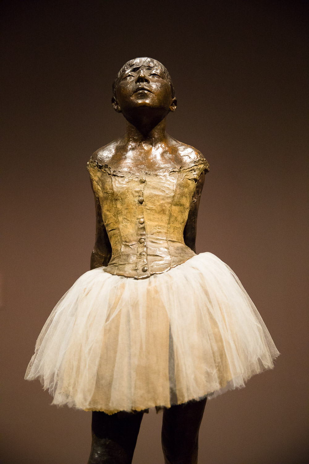 Virginia Museum of Fine Arts - the only statue Degas showed during his lifetime.
