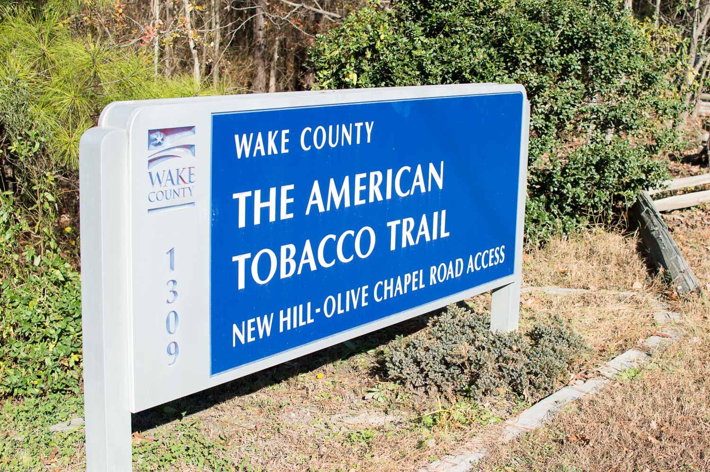 American Tobacco Trail New Hill-Olive Chapel Road