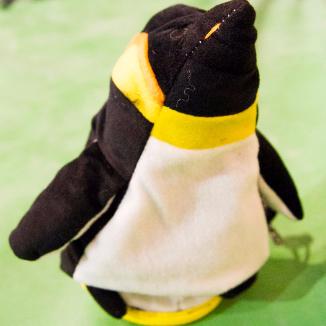 Penguin Chalk Bag