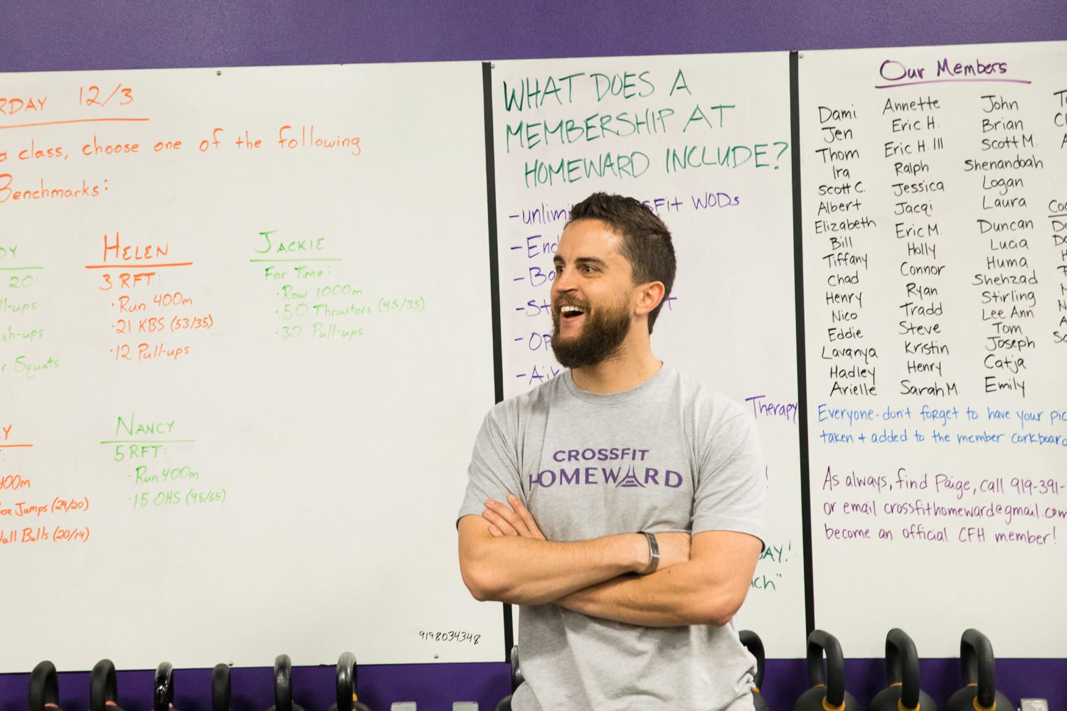 CrossFit Homeward offers depth and breadth in its coaching staff expertise and workout programming