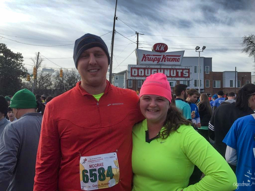 The couple who runs together stays together.