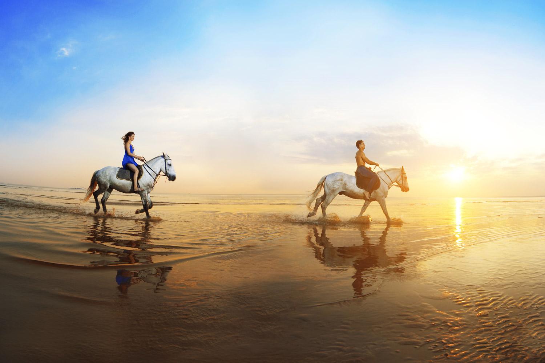 """I like long walks on the beach..."" (Licensed Adobe stock image)"