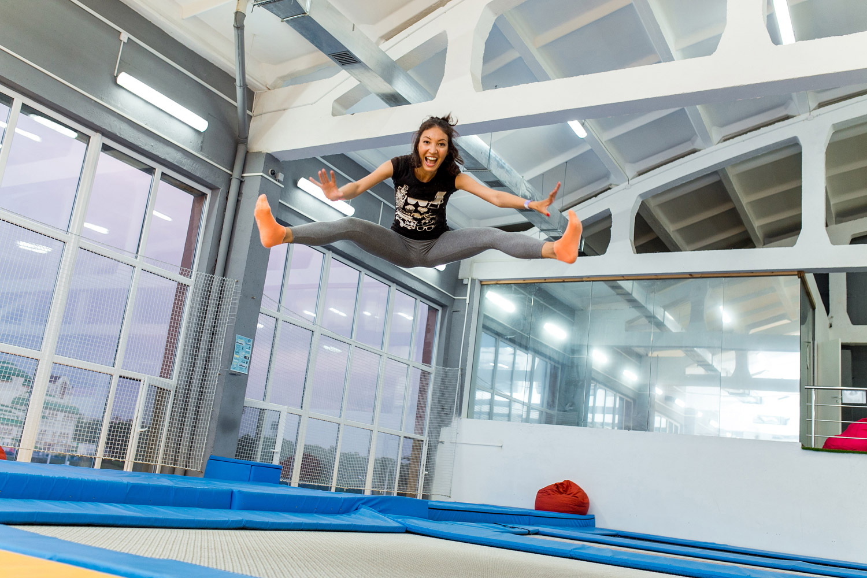 Indoor trampoline park! (Licensed Adobe stock image)