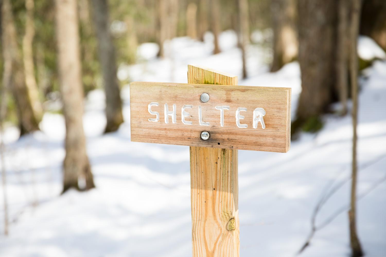 Roaring Fork Shelter on Appalachian Trail