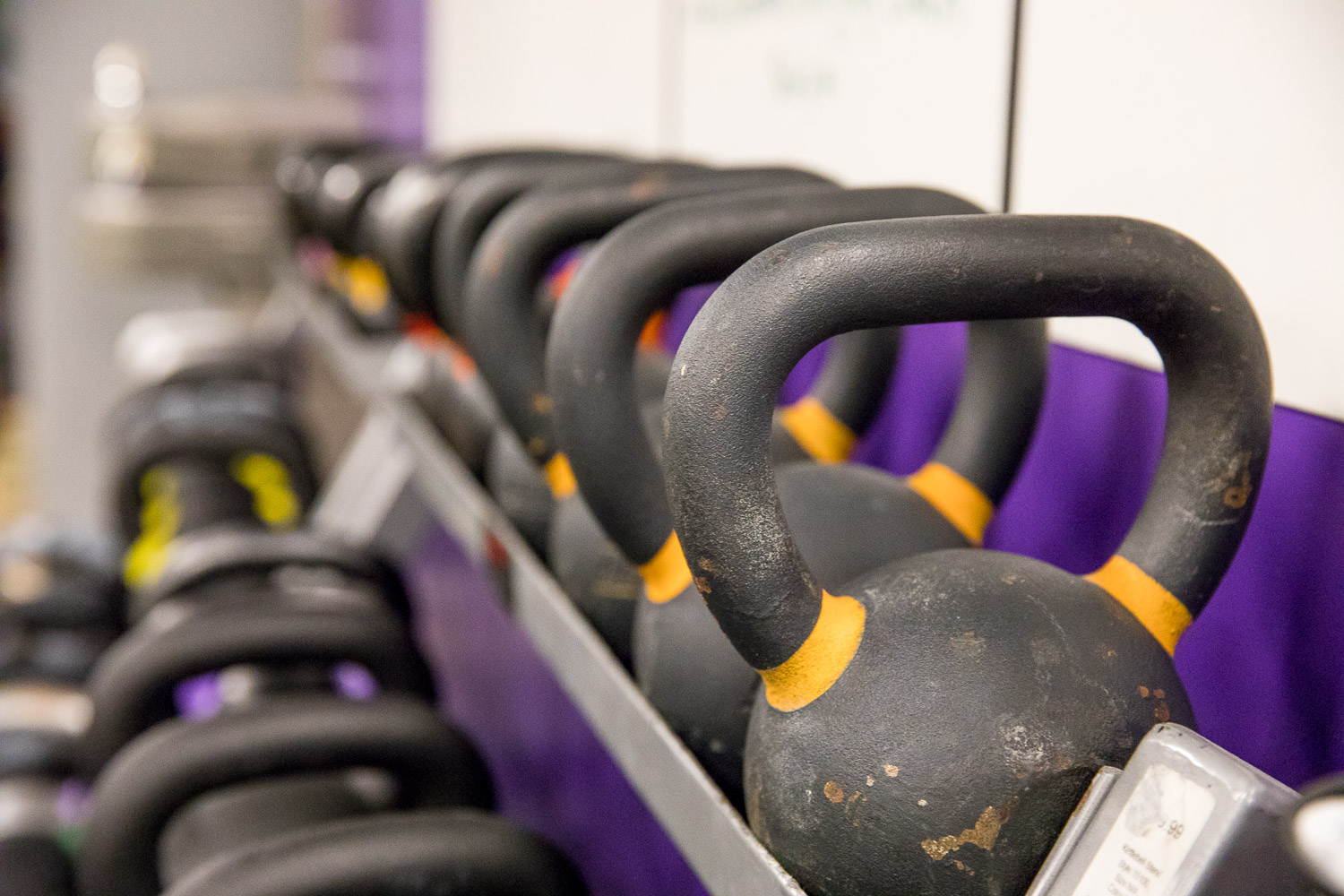 Kettlebells. Why did it have to be kettlebells?!