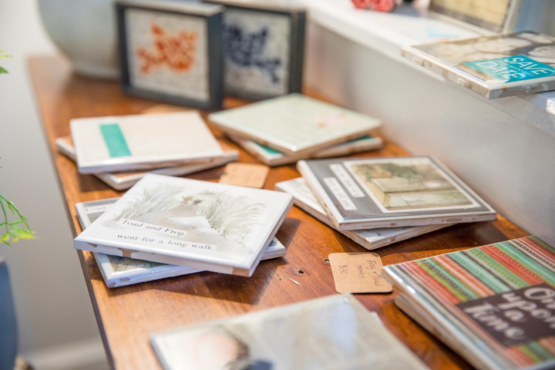 Coasters and gifts at Eno River Marketplace