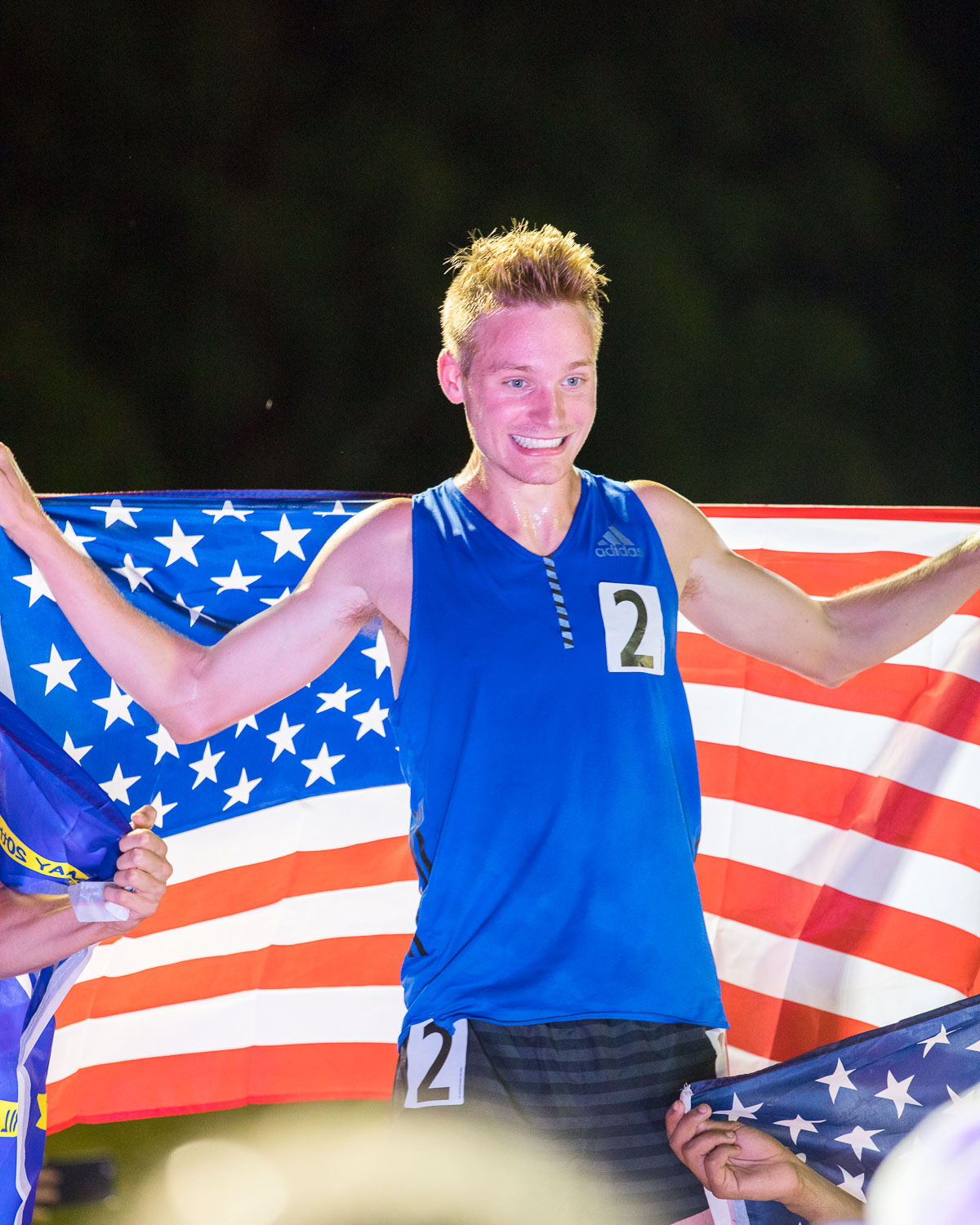 Drew Hunter in first place