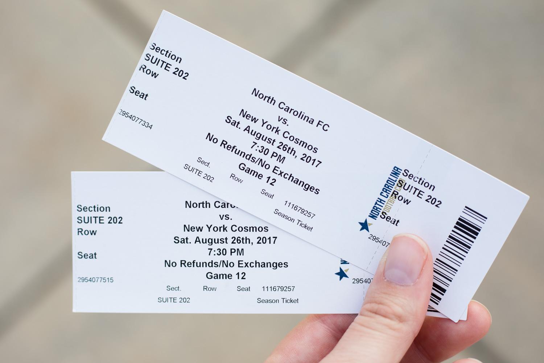NCFC Tickets