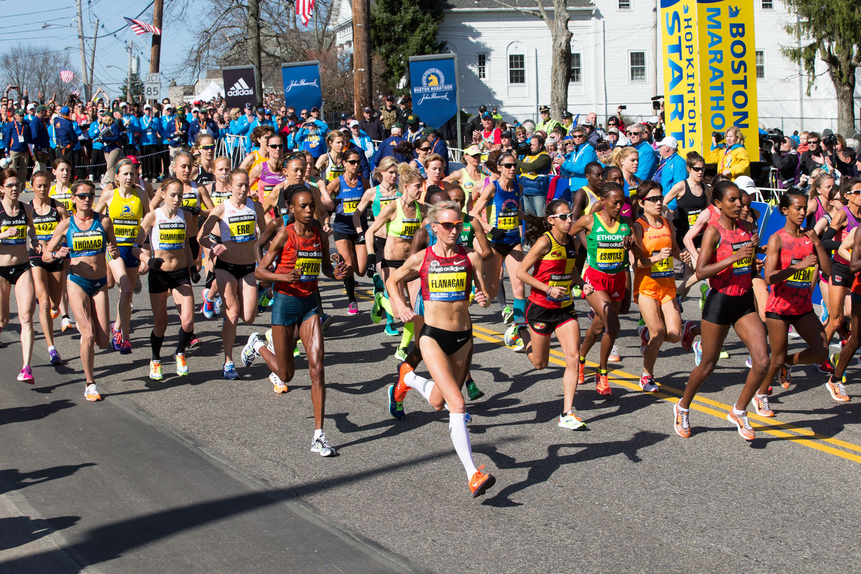 Boston Marathon. Source: http://bostonmarathonfilm.com/ Photo Credit: Michael J. Lutch