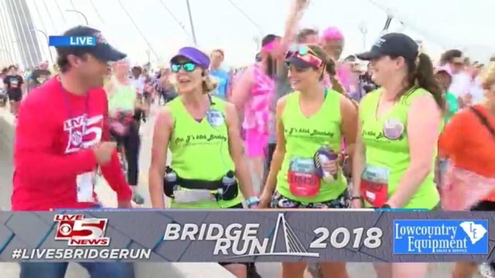 Charleston Bridge Run Interview