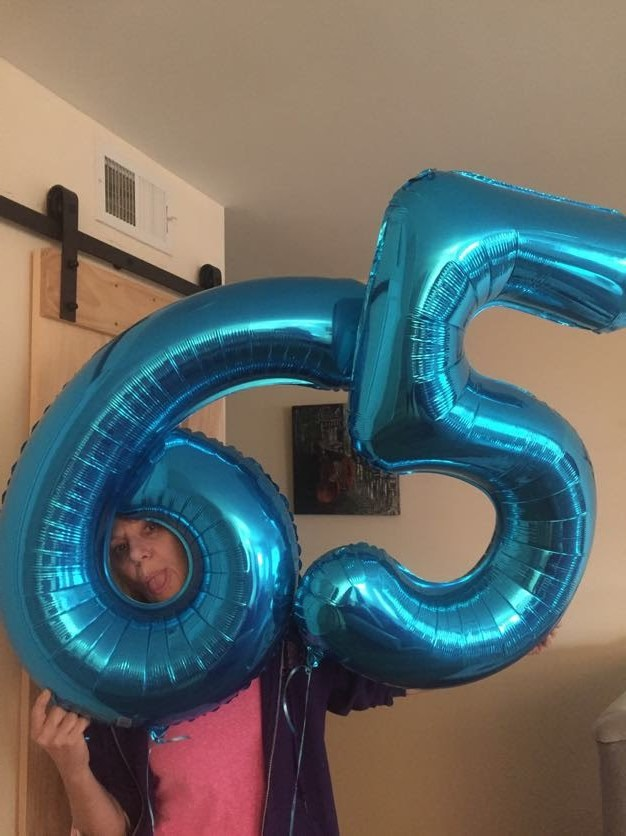Mrs. J's 65th birthday!