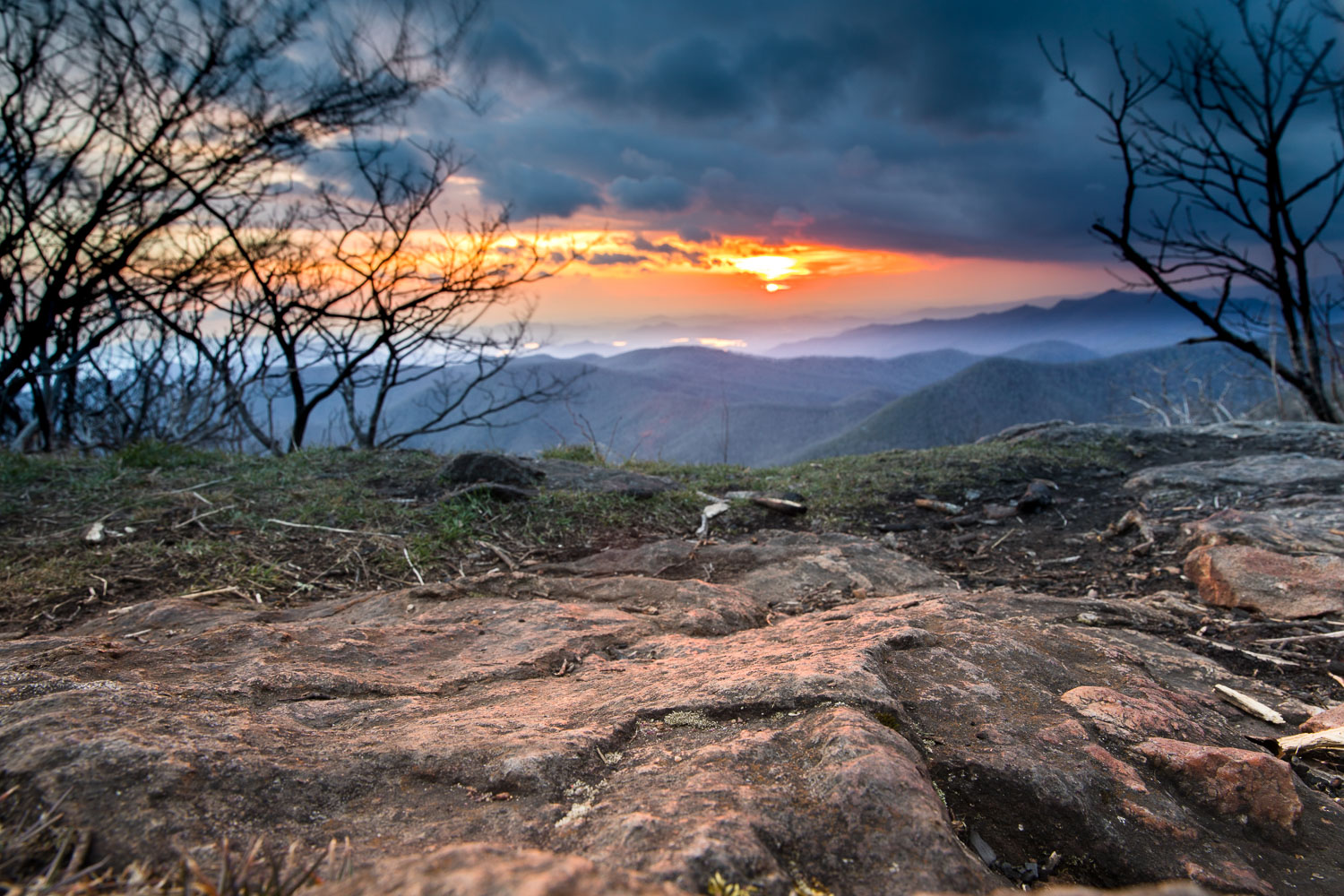 Standing Indian Mountain sunset